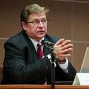 Ректор Университета Естественных наук Майт Клаассен . Фото : ETV24.EE .